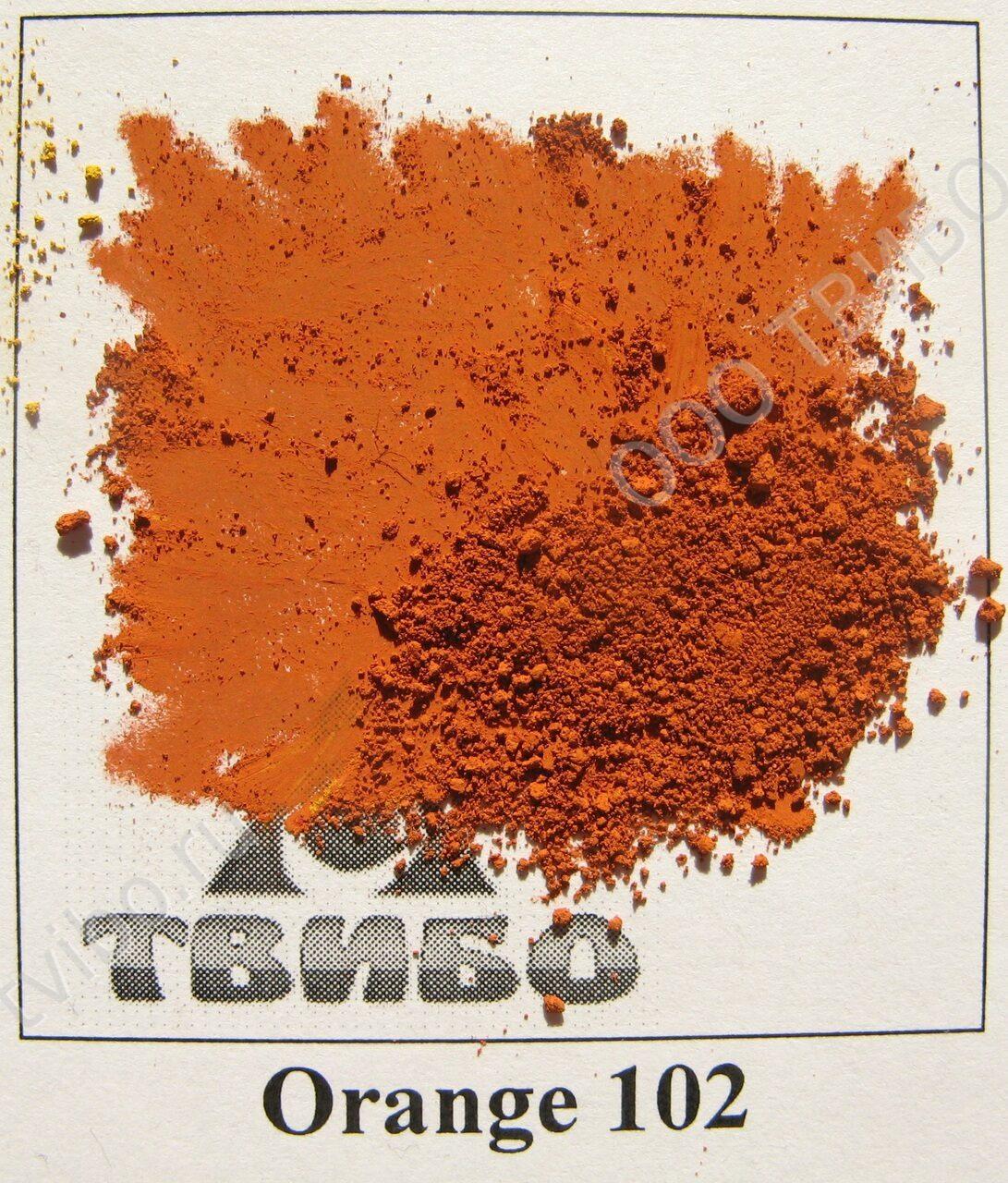 Оранжевый краситель своими руками